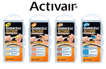 Activair batteries
